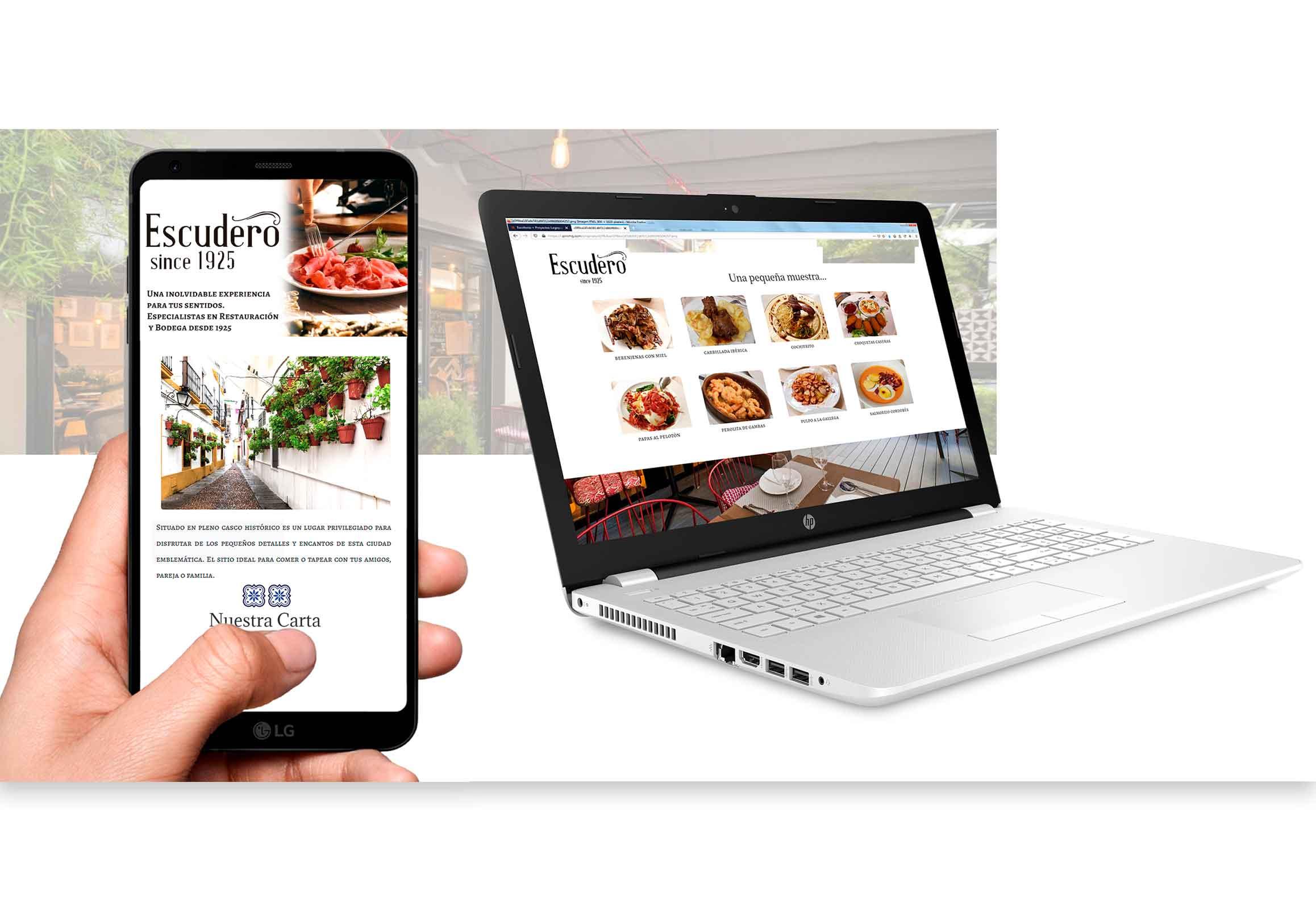 menu digital qr