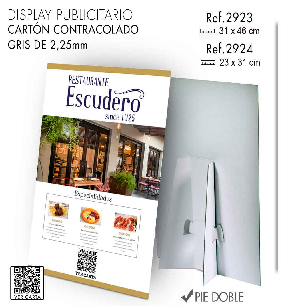 carta qr menu online